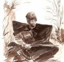 """ცნობილი აბრაგის უცნაური სიკვდილი, კაცი რომელიც ტყვიების """"წვიმებს"""" გადაურჩა ღელეში დაიხრჩო."""