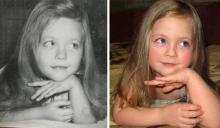 ისე ჰგვანან,როგორც წყლის ორი წვეთი:მშობლების და შვილების ფოტოები ერთ ასაკში