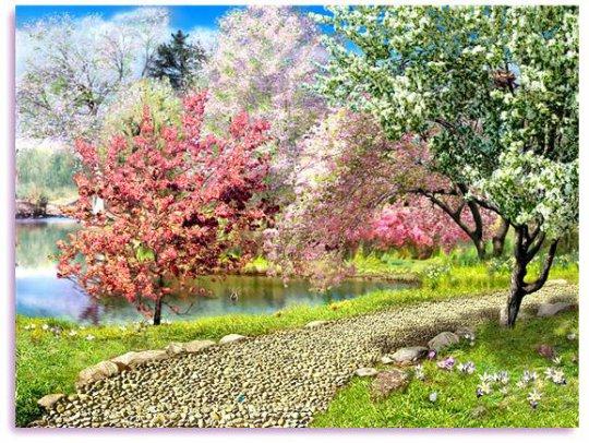 მიყვარს გაზაფხულის გაღიმება