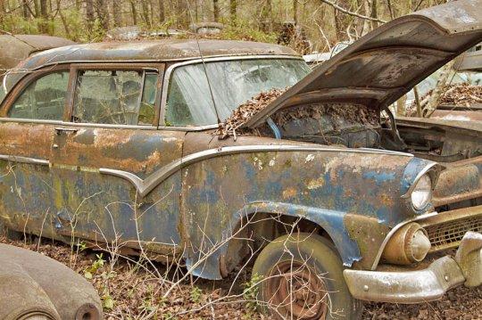 ძველი მანქანების ყველაზე დიდი სასაფლაო უაით სიტი აშშ