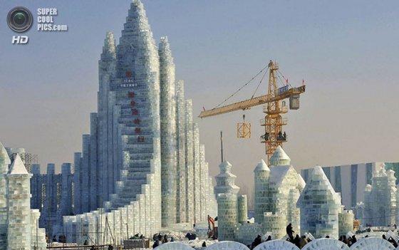 ყინულისა და თოვლის საიუბილეო ფესტივალი ჰარბინში