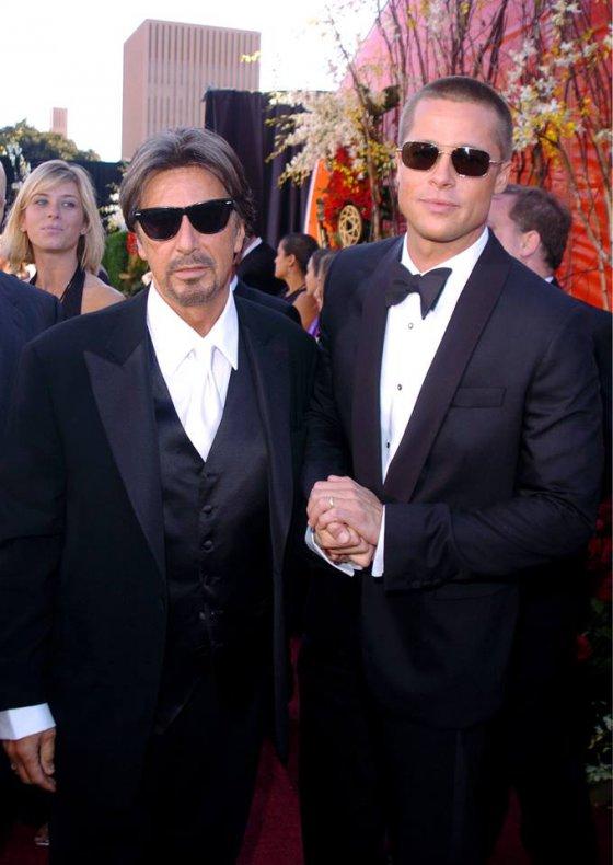 Al Pacino & Brad Pitt