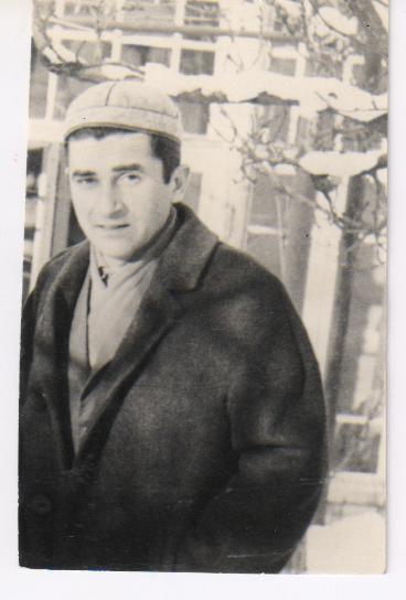 მწერალი ყარამან კიკვიძე (ჩემი ბაბუა) ახალგაზრდობაში