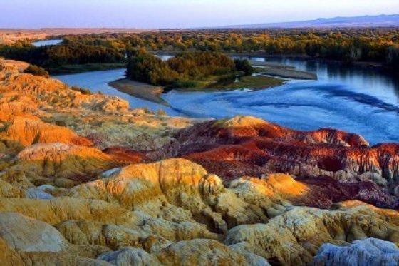 დამატყვევებელი სილამაზის მთები ჩინეთში