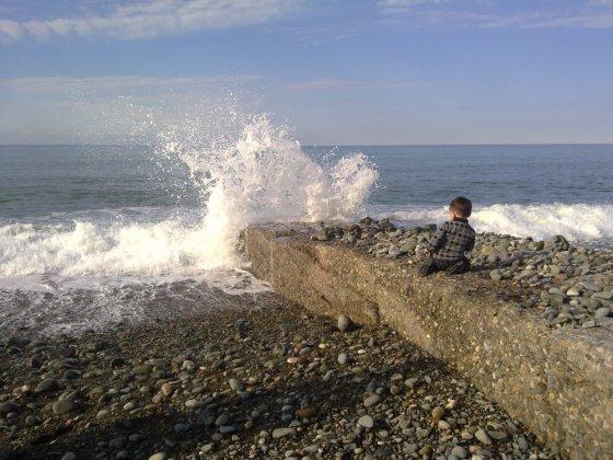 ზღვაზე