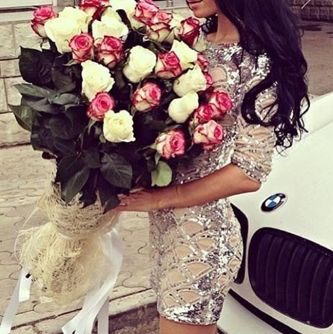 Money Rose Bouquet