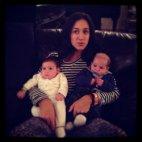 პატარა ელენე და ლადო დეიდასთან ერთად