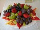ხილის კრეატიული გაფორმება