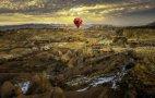 საჰაერო ბუშტებით თურქეთის ცაზე