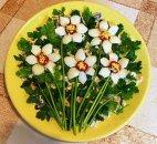 სალათის გაფორმება ლამაზად