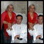 ჯაბა ბოჯგუა და დედამისი (უცნობი ფოტო)