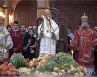 ფერისცვალების დღესასწაულზე პატრიარქმა  ხილი აკურთხა