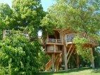 ულამაზესი სახლი ხეზე