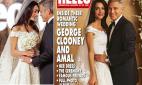 ჯორჯ კლუნის ცოლის საქორწინო კაბა