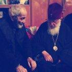 ილია II ძმასთან ერთად