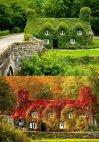 სახლი ჩრდილოეთ უელსში ზაფხულში და შემოდგომაზე