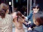 ჩინეთში ქალს სახალხოდ გახადეს და ცემეს ღალატის გამო