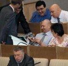 """რუსეთის დუმაში დეპუტატები """"პენტჰაუზით"""" ერთობიან"""