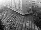 7600 ტონიანი მრავალსართულიანი კორპუსის გადატანა რუმინეთში 1987 წელი