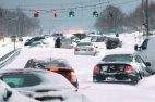 შტატებში დიდი თოვლი მოვიდა