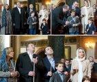 პრეზიდენტი და პრემიერი ოჯახებით გიორგობის ბრწყინვალე დღესასწაულზე
