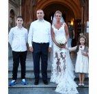 რუსა ჩაჩუა მეუღლესთან და შვილებთან ერთად