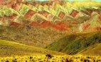 ფერადი მთები არგენტინაში