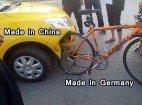 ჩინური მანქანა და გერმანული ველოსიპედი