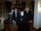 პატრიარქმა მადლიერების დღე ელჩ ნორლანდსა და მის ოჯახთან სადილით აღნიშნა