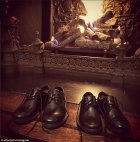 მეფე - დედოფლის ფეხსაცმელები