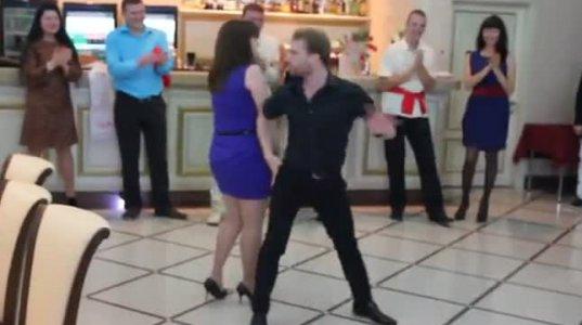 ისე მოუნდა ცეკვა, ისე, რომ...