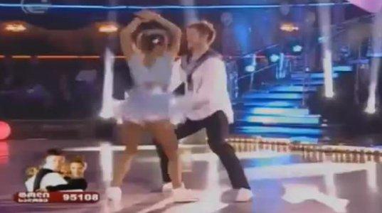 ტოლი ბოისა და სალომე ჭაჭუა 6 ტური ცეკვავენ ვარსკვლავები 3 სეზონი