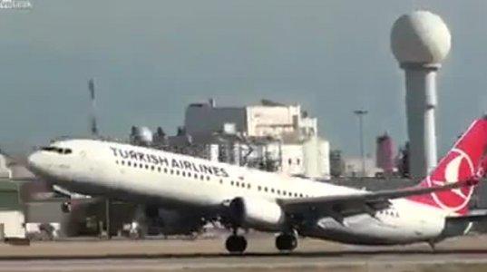 თვითმფრინავი ვერ დაეშვა აეროპორტში