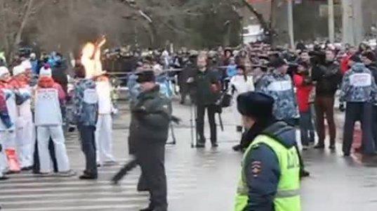 """სანამ არ """"შეიწირავს"""" ვინმეს ოლიმპიური ჩირაღდანი რუსეთში მანამდე არ გაჩერდება"""