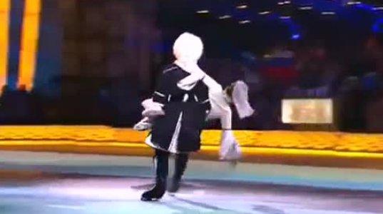ქართული ცეკვა ციგურებში