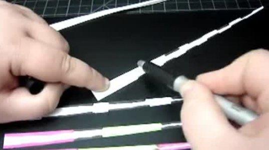 როგორ დავამზადოთ ქაღალდისგან  სამკაულები