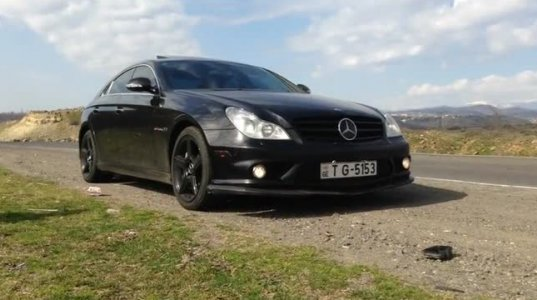CLS 55 AMG IOO-222 300კმ