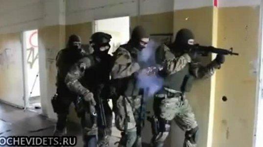 """რუმინული სპეცრაზმის სახალისო """"იაღლიში"""" საჩვენებელი გამოსვლისას."""