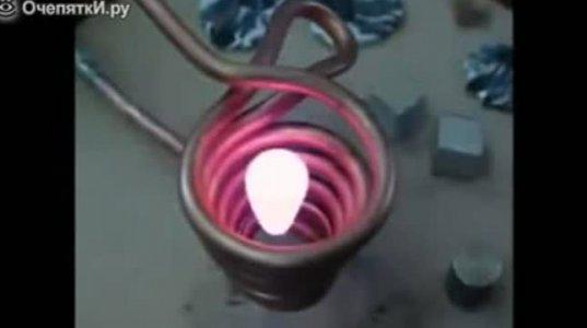 საინტერესო ექსპერიმენტი ალუმინზე, რომელიც წამში ორთქლდება