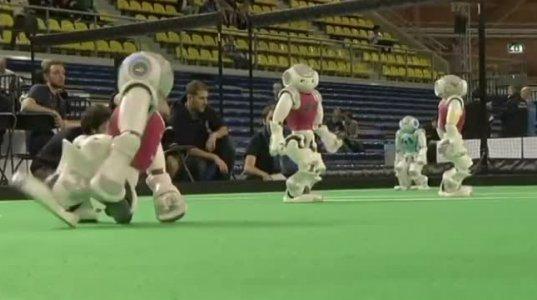 რობოტების ჩემპიონატი ფეხბურთში