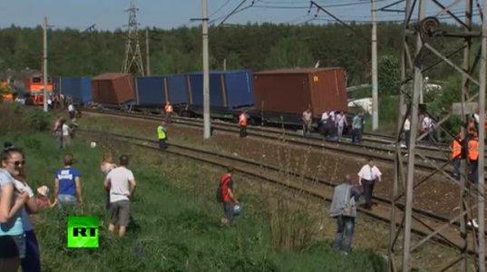 ორი მატარებელი შეეჯახა ერთმანეთს მოსკოვში