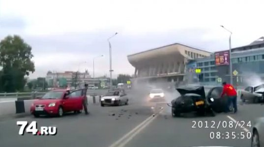 საშინელი ავარია ვაგზალზე