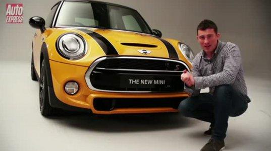 """"""" უმაგრესია"""" - new Mini Cooper 2014"""