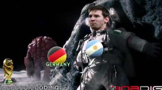 გერმანიის ნაკრების კურიოზული ვიდეო