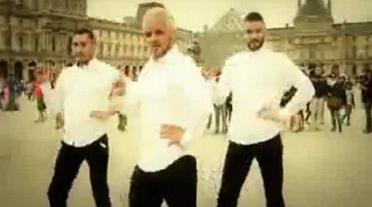 მამაკაცების ცეკვა მაღალქუსლიანებზე