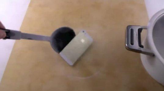 iPhone 5s ტესტირება , მაღალ ტემპერატურაზე