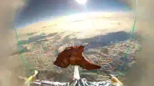 ბრიტანელებმა კოსმოსში ცხვრის შემწვარი ხორცი გააგზავნეს