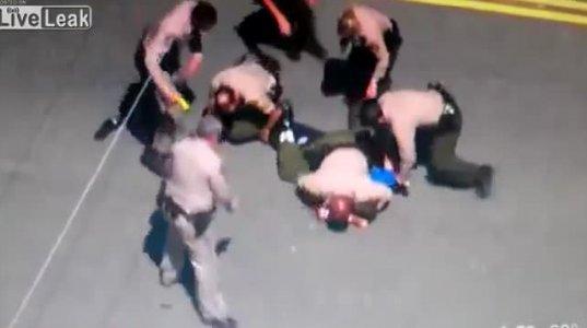 ჩხუბი 7 პოლიციელის წინააღმდეგ
