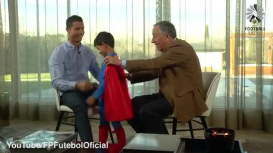 მამა-შვილის ყველაზე საუკეთესო მომენტი - კრიშტიანო რონალდუ და მისი ვაჟი