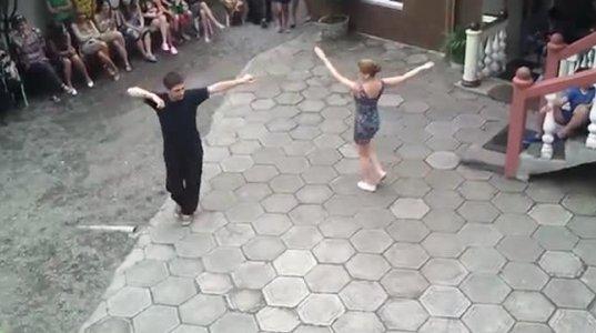 ქართველების ქართულის ცეკვა და უცხოელების რეაქცია